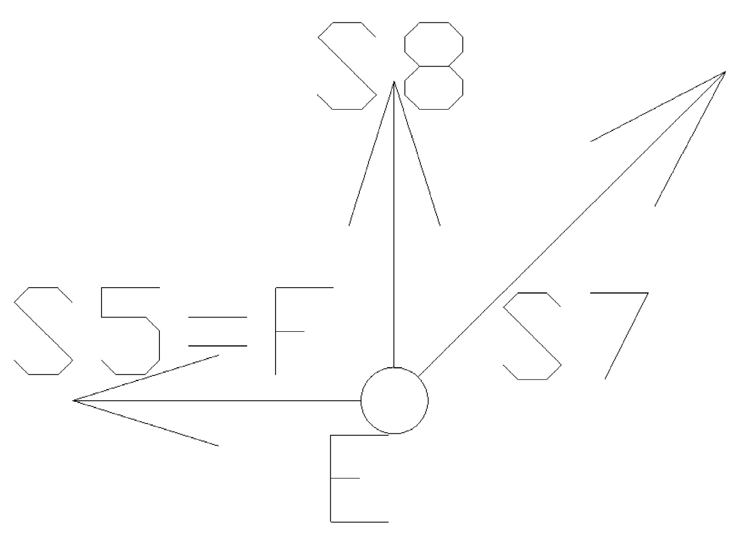 statyka20 - Kratownica płaska - metoda równoważenia węzłów - zadanie 22